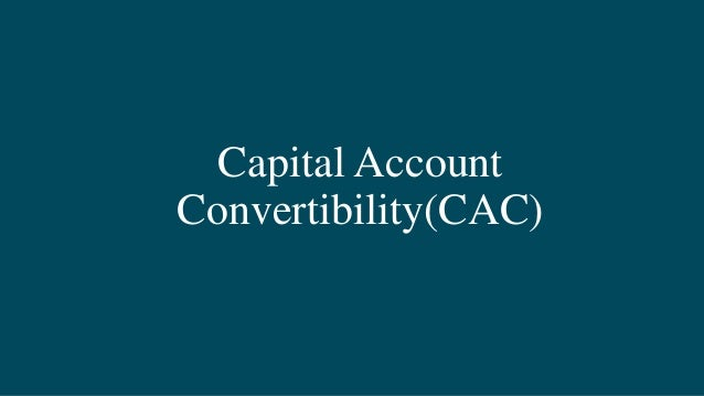 capital account convertibility How to internationalize the rmb capital account liberalization is not the key to internationalizing china first established capital account convertibility—rendering rmb convertible for investment purposes—as a long-run goal in 1993 and has reiterated this in the subsequent plenums.