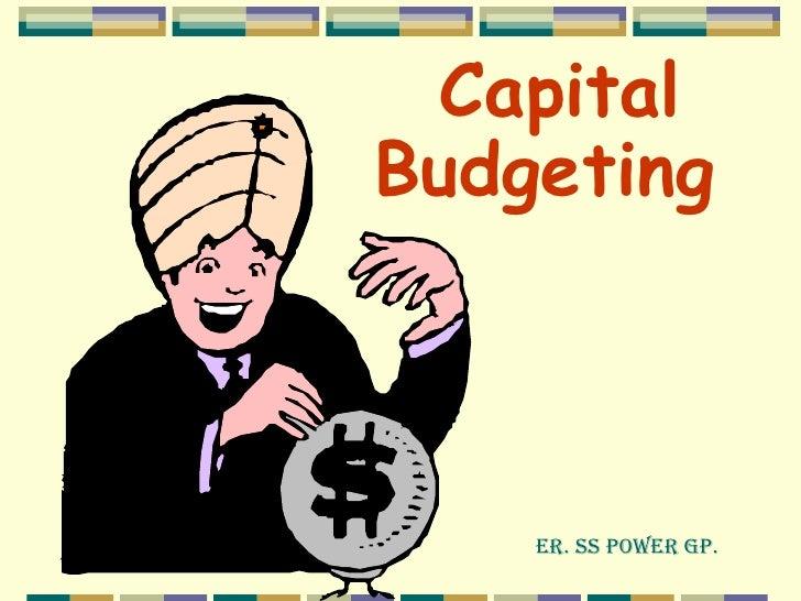 Capital budgeting of bhel