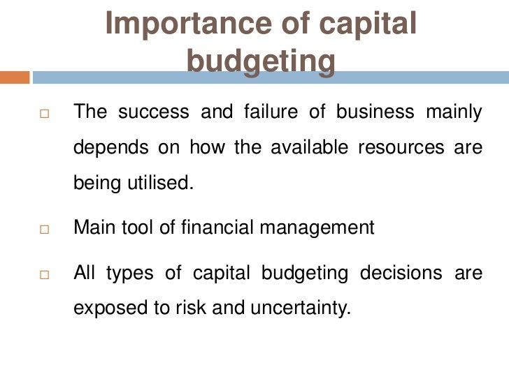 An introduction to a budget a management tool