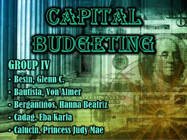 Capital     Expenditures         – refers tosubstantial outlay of funds the purpose ofwhich is to lower costs and increase...