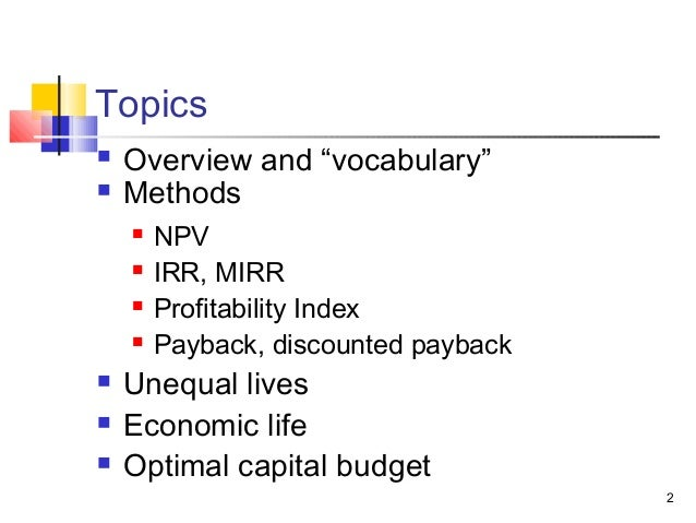module 4 fin 301 capital budgeting Notes by homework providers  qrb 501 week 6 capital budgeting case by homework providers  psy 301 week 4 by homework providers.