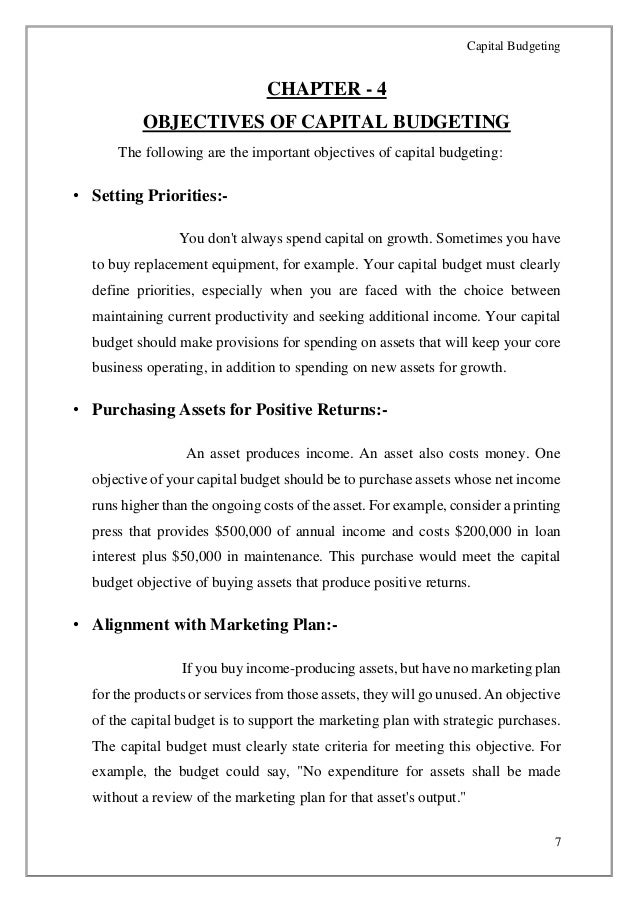 capital budgeting analysis is based on
