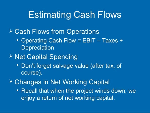 relevant cash flows irrelevant cash flows capital investment appraisal Capital investments (theory and practice  of debt and equity capital • investment appraisal = evaluating consumption  in the discount rate example demonstrating relevant cash flows vs irrelevant cash.
