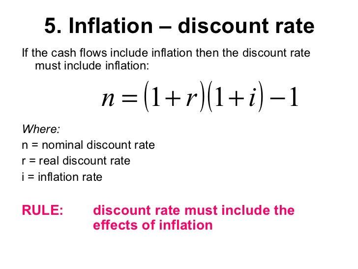 download discount rate formula excel
