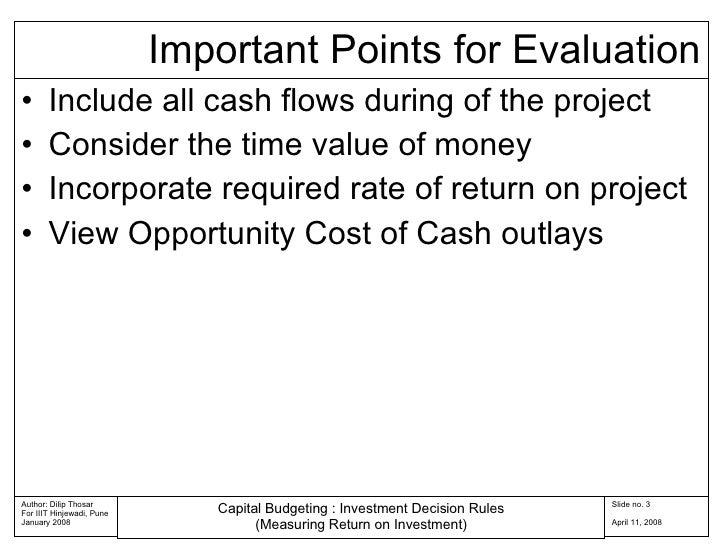 Capital Budgeting Rules 04 Slide 3