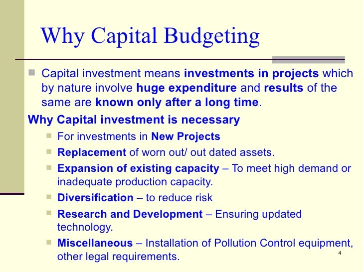project appraisal procedures 113 effect of capital investment appraisal techniques on financial  set up  capital investment appraisal processes that fit their own developing need, and.