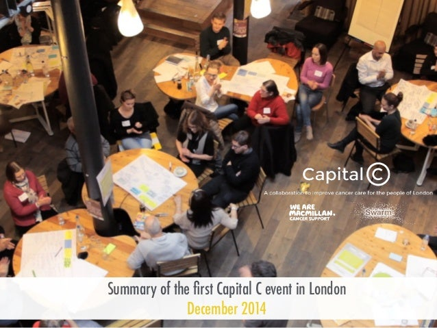 Summary of the first Capital C event in London December 2014