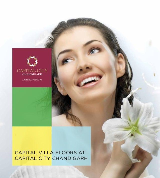CAPITAL VILLA FLOORS ATCAPITAL CITY CHANDIGARH