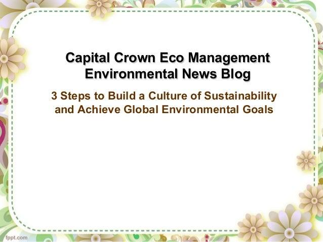 Capital Crown Eco ManagementCapital Crown Eco ManagementEnvironmental News BlogEnvironmental News Blog3 Steps to Build a C...