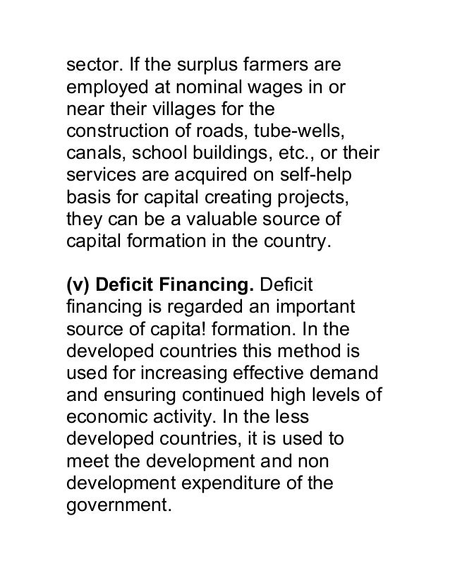 sector. If the surplus farmers areemployed at nominal wages in ornear their villages for theconstruction of roads, tube-we...
