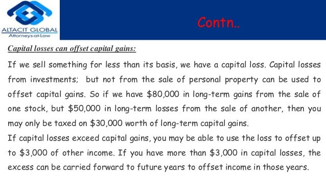 how to avoid capital gains on shares
