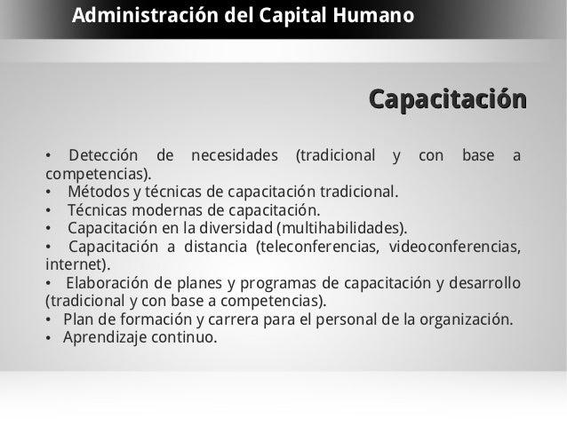 Administraci n del capital humano for Tecnicas culinarias modernas