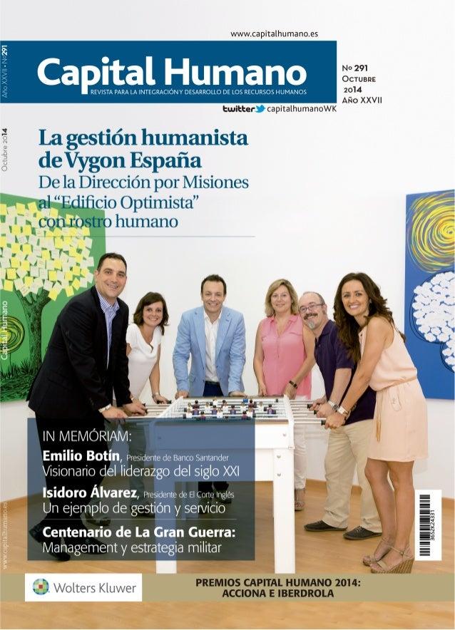 Revista Capital Humano - Octubre 2014.