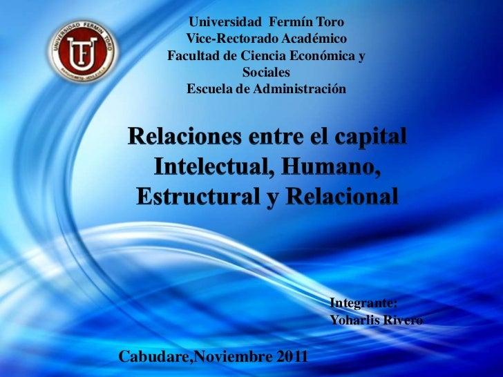 Universidad Fermín Toro       Vice-Rectorado Académico     Facultad de Ciencia Económica y                 Sociales       ...