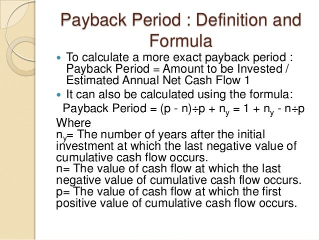 Capital investment definition