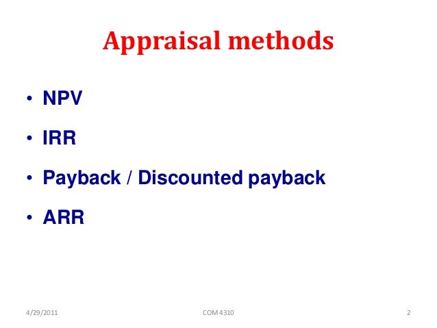capital investment decisions essay Capital investment assignment help on planned projects for financial performance with help of tool such as npv, irr, mirr, payback, breakeven analysis.