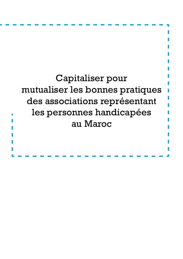 Capitalisation bonnes pratiques associatives projet sam maroc Slide 2