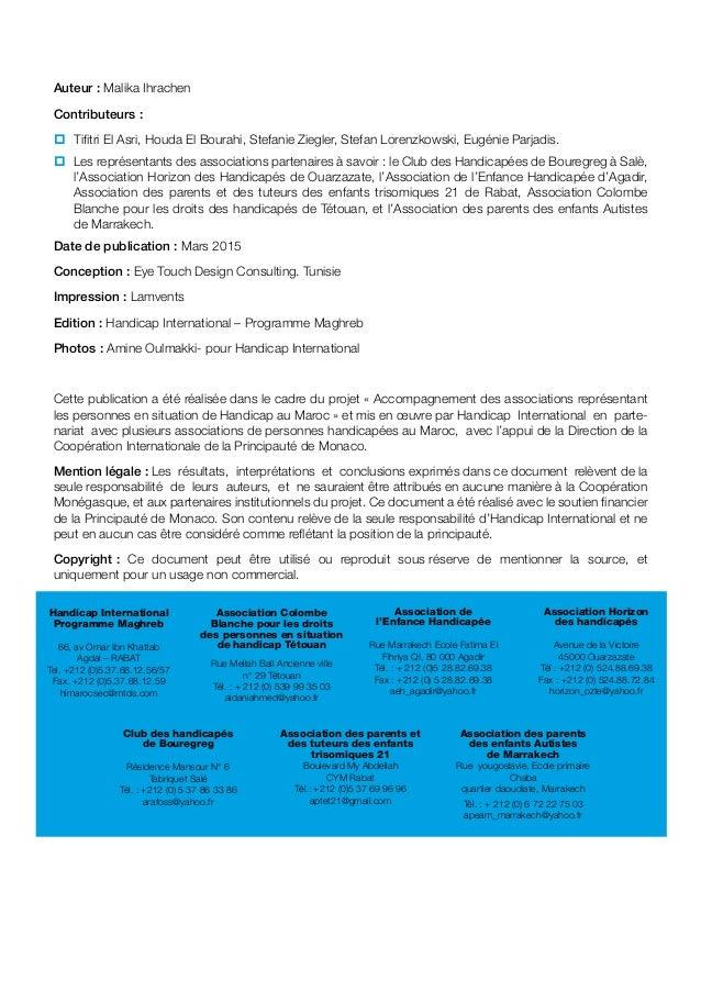 Capitalisation bonnes pratiques associatives projet sam maroc Slide 3
