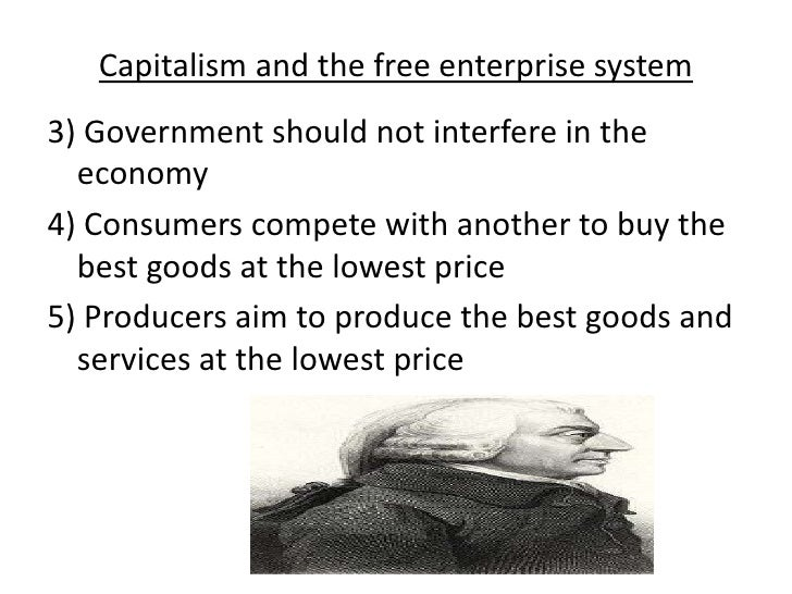 Capitalism and the free enterprise system Slide 2
