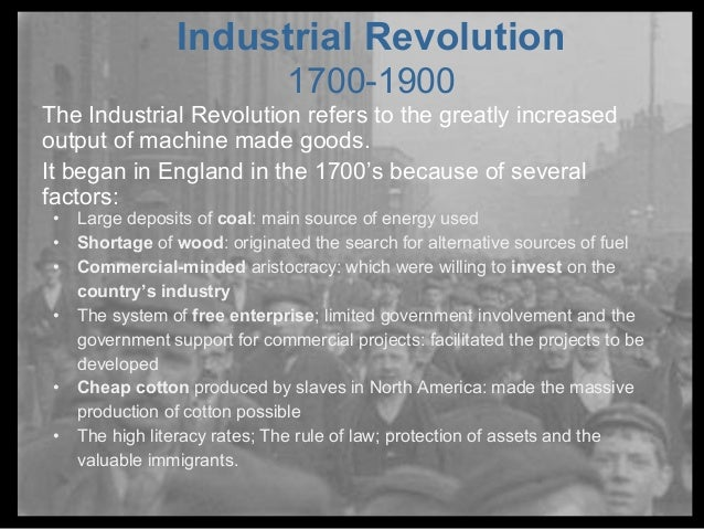capitalism and the industrial revolution essay Socialism essay: essay on socialism class as it emerged during the industrial revolution of both capitalism and socialism all industrial societies rely.