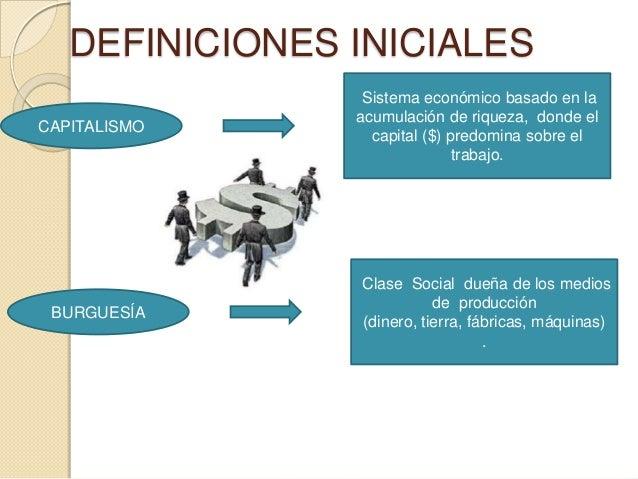 Capitalismo y burguesía Slide 2