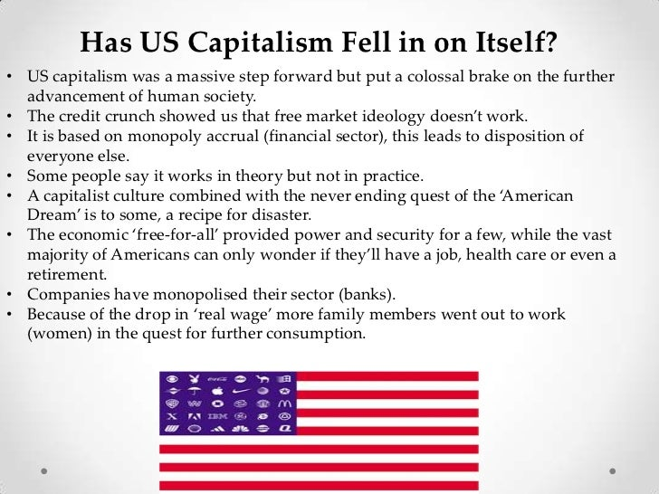 "pros and cons of capitalism Pros and cons of capitalism the word ""capitalism"" causes many people to have negative associations – even among those who are in this system and are doing well in a decent society, capitalistic values are severely criticized."