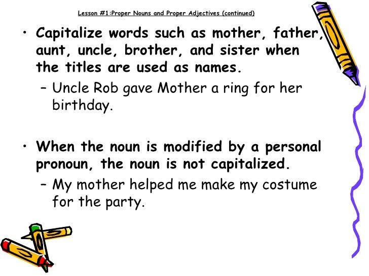 is birthday capitalized Capitalization! is birthday capitalized