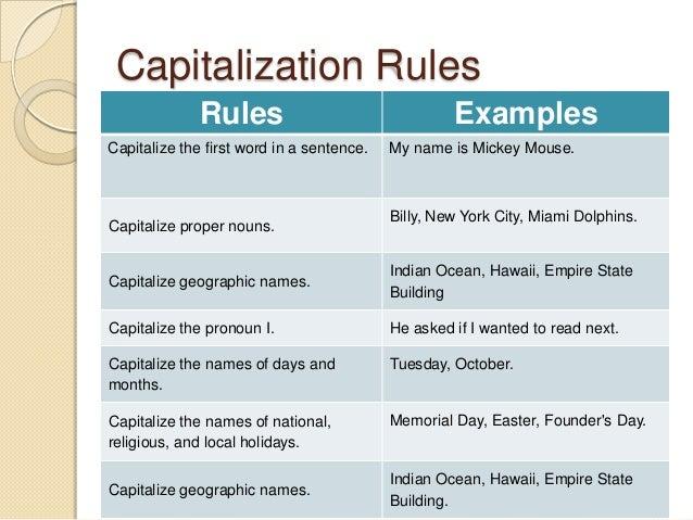 MINTS – A Capitalization Trick – Lesson This