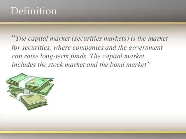 Capital Market - Structure Slide 3