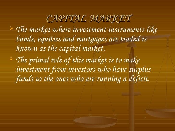 Capital market ppt Slide 2