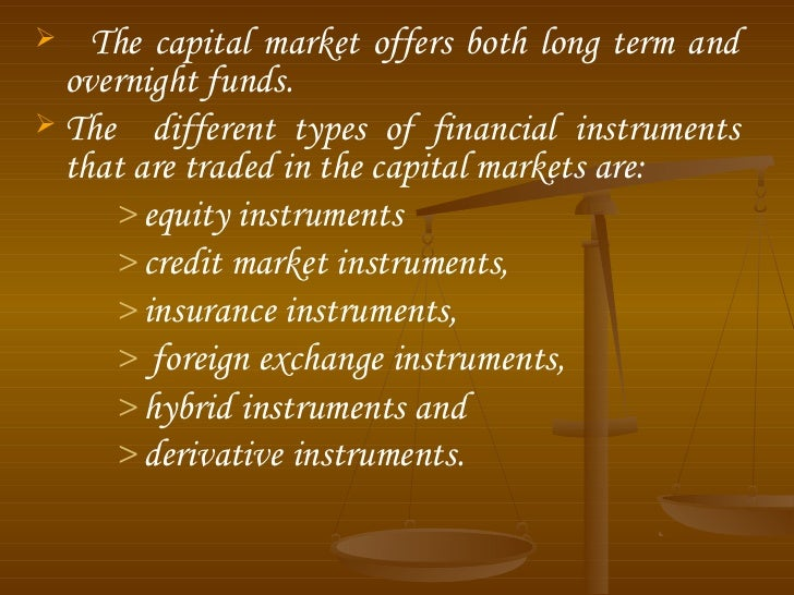 Capital market ppt Slide 3