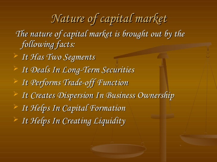 importance of capital formation