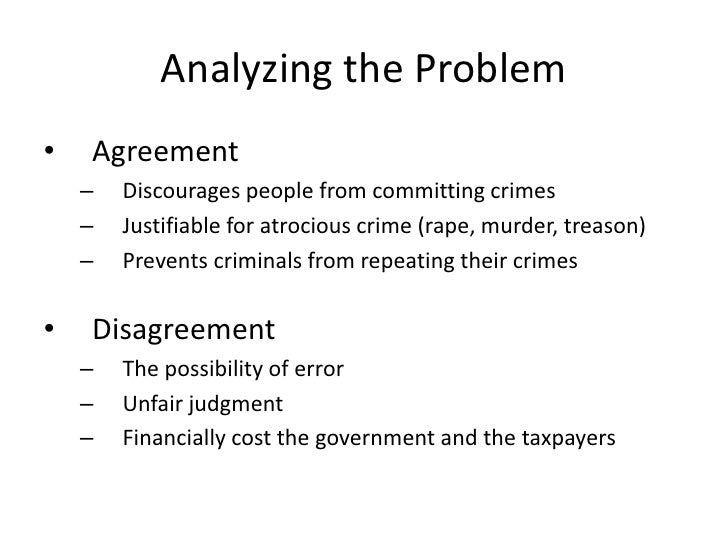 an overview of the debate on the capital punishment in the united states View notes - debate speech from com 204 at california polytechnic state university, pomona jennifer vargas march 12, 2008 debate speech the united states has an inefficient capital punishment system.