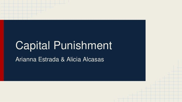 changing the world with capital punishment With the death penalty sentence i'm entitled to more appeals  university of  pennsylvania journal of law and social change, vol  united states the  imprisonment capital of the world while doing nothing to address the.