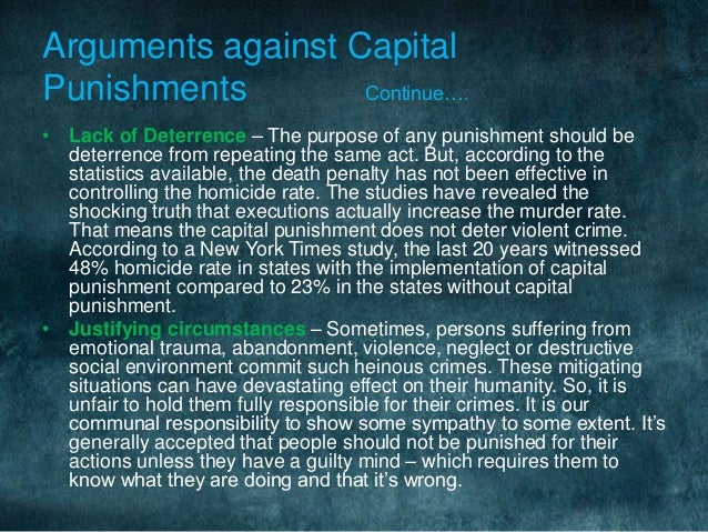 analyzing the mentality of vengeance in capital punishment Capital punishment also means that the space used up by capital offenders in prisons is to have deserved death and that the notion behind it was vengeance.