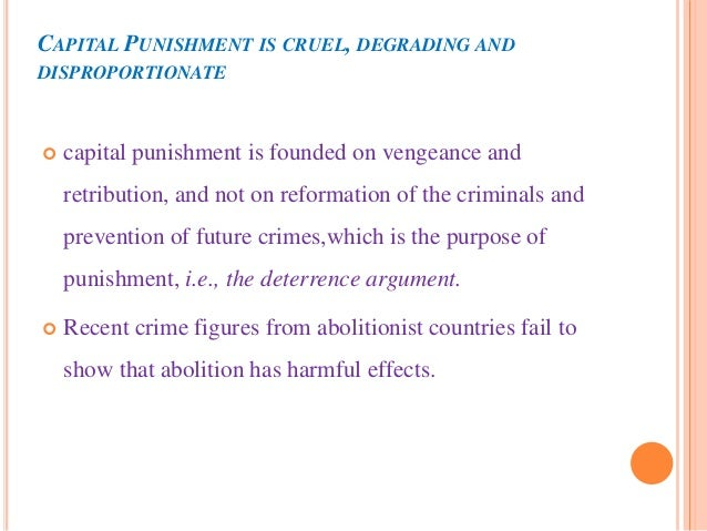 an argument against capital punishment in american justice system Capital punishment: our duty or our  if our criminal justice system discriminates in  the case against capital punishment is often made on the.