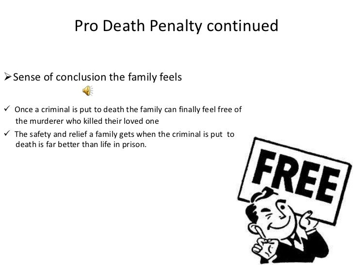 argumentative essay on capital punishment should be abolished Should the death penalty be abolished 61% say yes 39% say my second argument for keeping capital punishment is that it can provide a safer environment for us.
