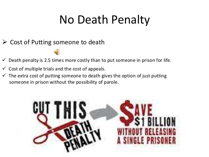 capital punishment power point 6 no death penaltyiuml131152