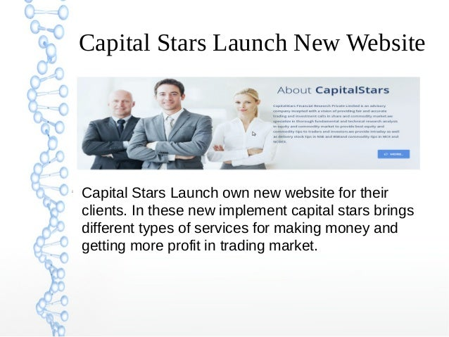 Capital Stars Launch New Website   Capital Stars Launch own new website for their  clients. In these new implement capita...