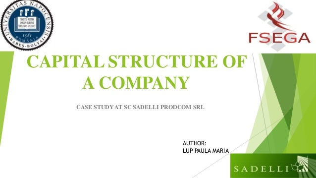 Equity capital structure