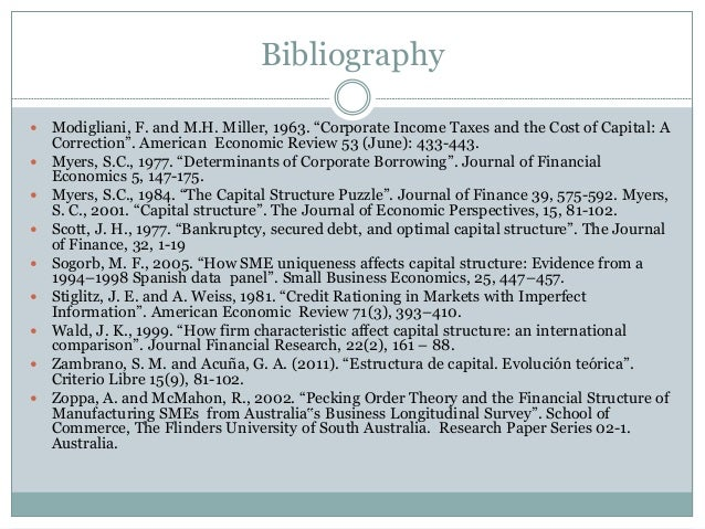 capital structure puzzle In this video i talk about informational assymetries and how they can explain pecking order theory in myers and majluf (1984.
