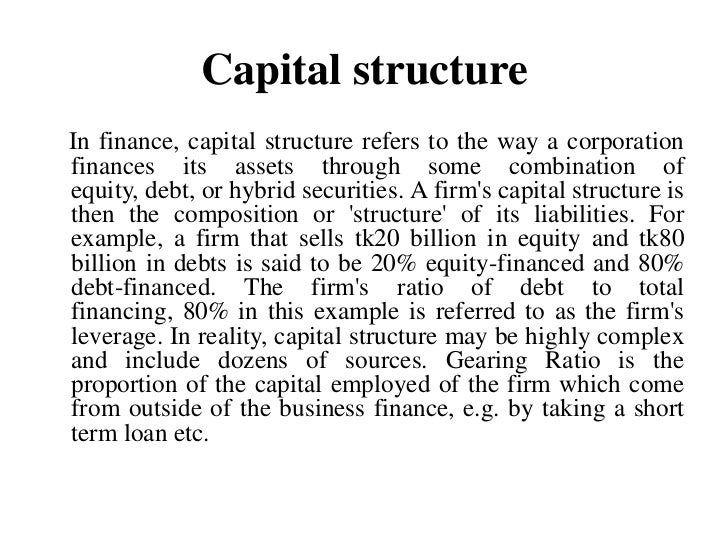 Importance of Capital Structure Planning