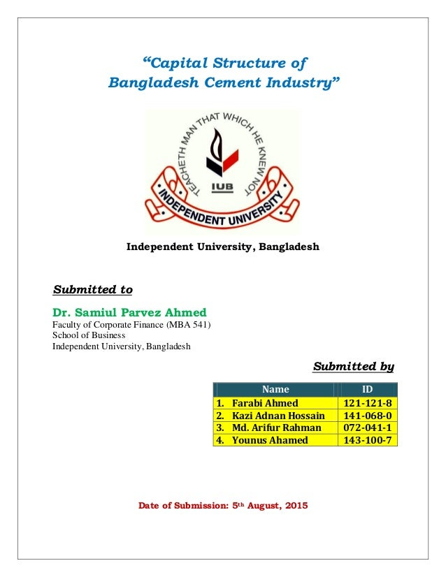 financial analysis on bangladesh cement companies Financial statement & security analysis of bd lamps ltd  compare financial position of these two companies  ltd & lafarge surma cement ltd bangladesh we are .