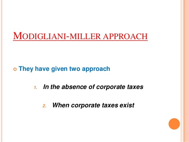 capital structure with corporate taxes (how) do taxes affect capital structure reasons for corporate tax reform, the leverage channel does not appear to be important severalempiricalstudieshavefoundasignificantpositiverelationbetweenfirms'marginal.