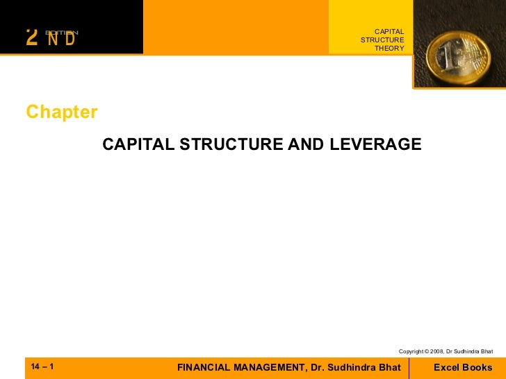Chapter CAPITAL STRUCTURE AND LEVERAGE