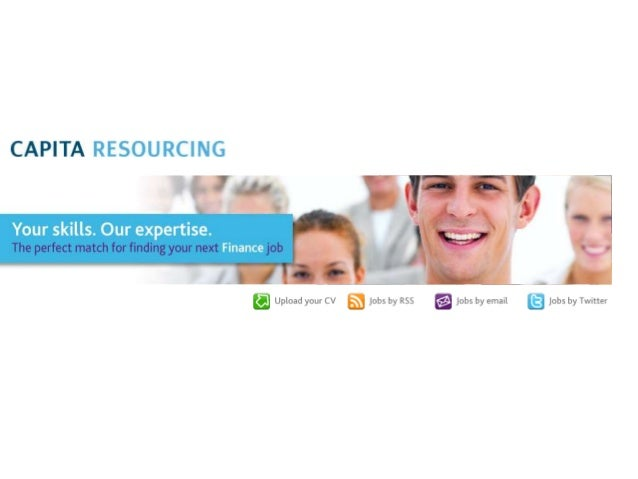 Capita Resourcing: Recruitment SpecialistCapita Resourcing is a part of the FTSE 100 Capita plc, UK's leading BPOand profe...