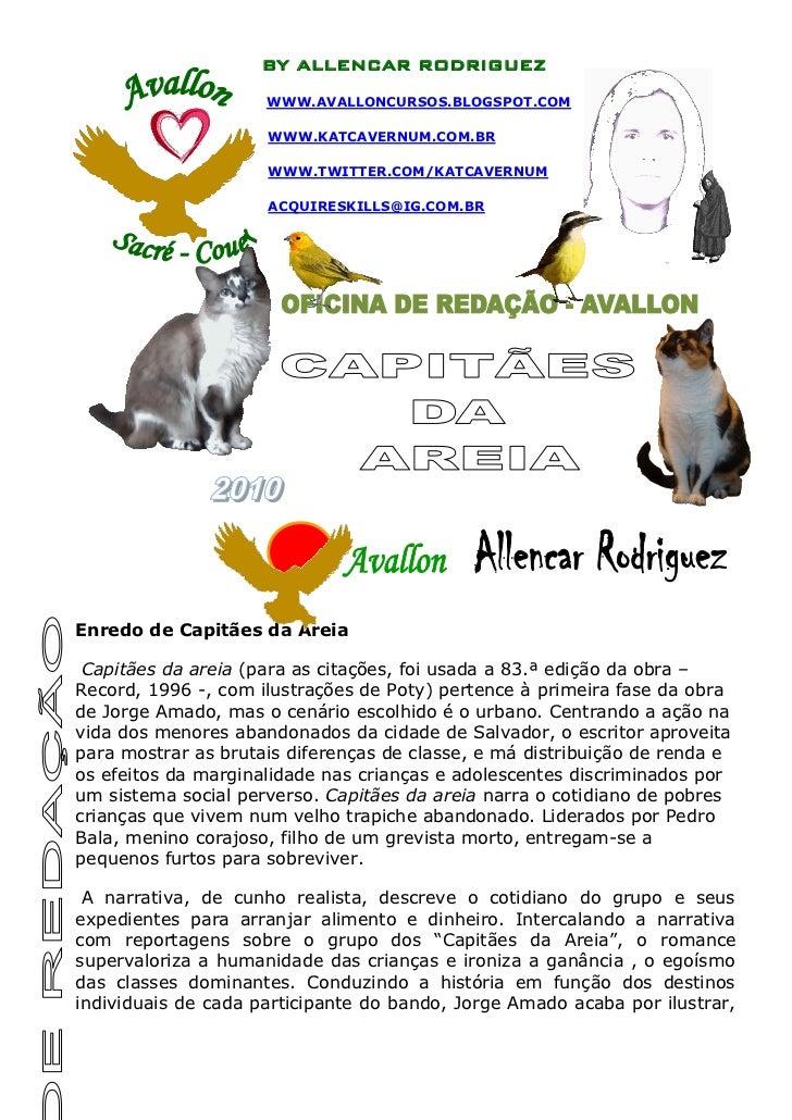 BY ALLENCAR RODRIGUEZ                     WWW.AVALLONCURSOS.BLOGSPOT.COM                     WWW.KATCAVERNUM.COM.BR       ...