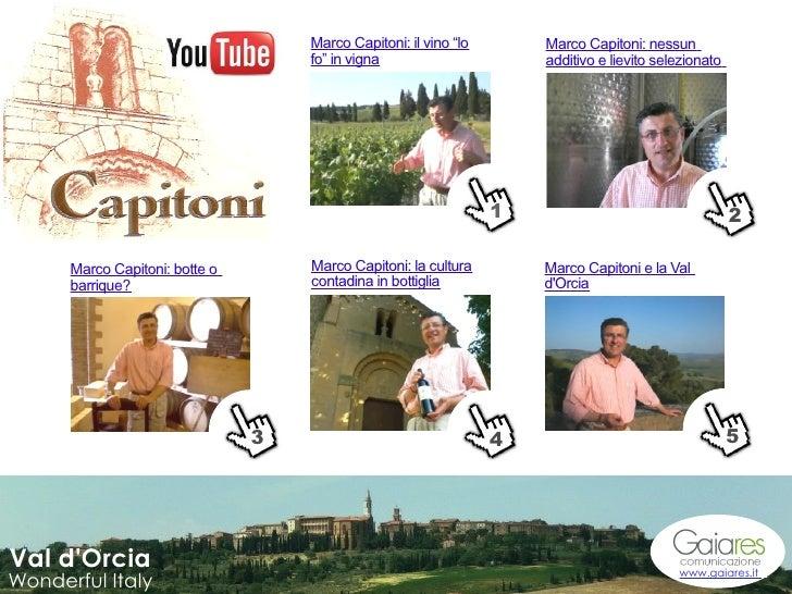 """Marco Capitoni: il vino """"lo       Marco Capitoni: nessun                                     fo"""" in vigna                 ..."""