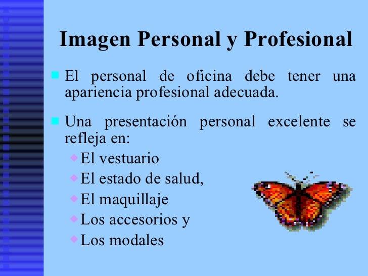 Relaciones interpersonales e imagen profesional del for Que es un oficinista