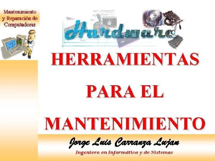 HERRAMIENTAS Slide 1